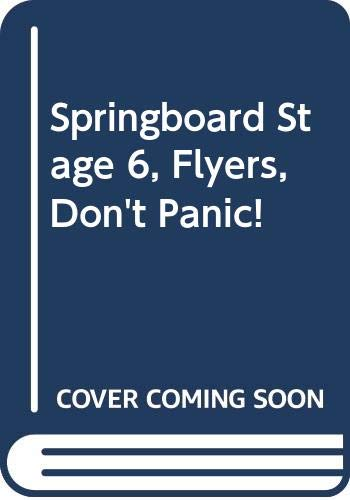Springboard-Stage-6-Flyers-Don-039-t-Panic-by-Kimpton-Diana-0602281075-The-Cheap