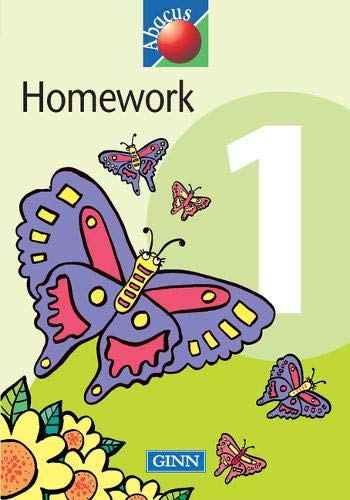1999 Abacus Year 1 / P2: Homework Book By Steven Kirkby