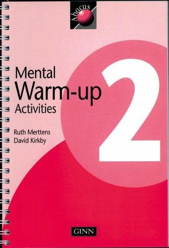 1999 Abacus Year 2 / P3: Warm-Up Activities Book By David Kirkby