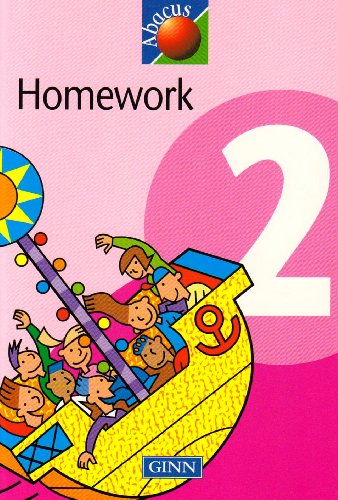 1999 Abacus Year 2 / P3: Homework Book By David Kirkby