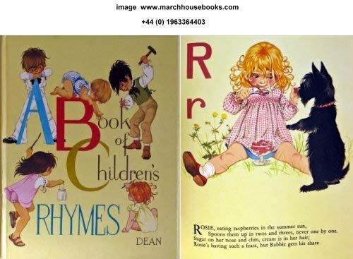 Book of Children's Rhymes By Janet Grahame-Johnstone