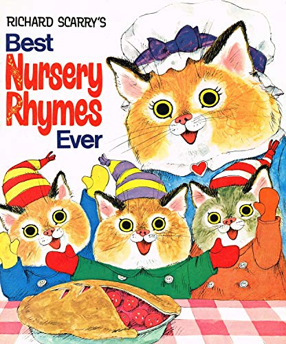 Scarry Best Nursery Rhymes Ever By Richard Scarry