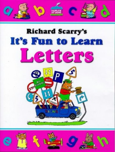 Letters and Numbers 3-4 Years By Richard Scarry