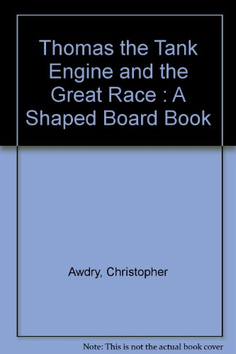Thomas the Tank Engine: A Shaped Board Book by Christopher Awdry