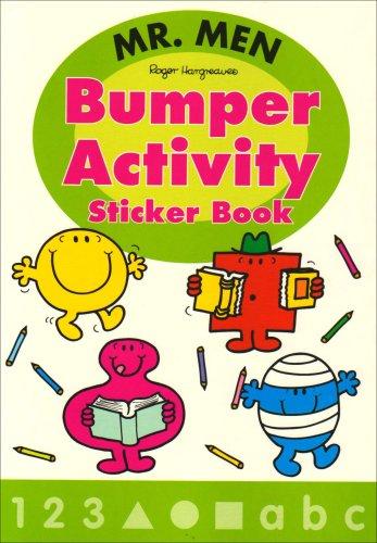 Mr. Men Bumper Activity Sticker Book