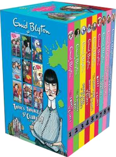 St Clare's 9 Exciting School Stories By Enid Blyton
