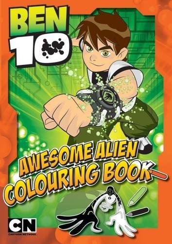 Ben 10 Amazing Action Colouring Book By Egmont UK Ltd