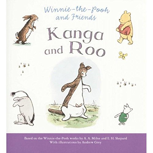 Winnie-the-Pooh and Kanga and Roo by Andrew Grey