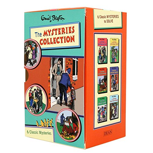 Enid Blyton Mysteries Collection: Books 7-12 By Enid Blyton