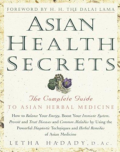 Asian Health Secrets By Letha Hadadi