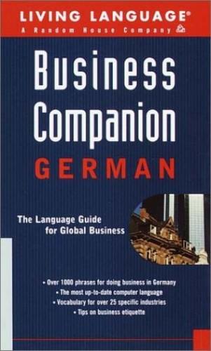 German Business Companion Handbook By Tim Dobbins