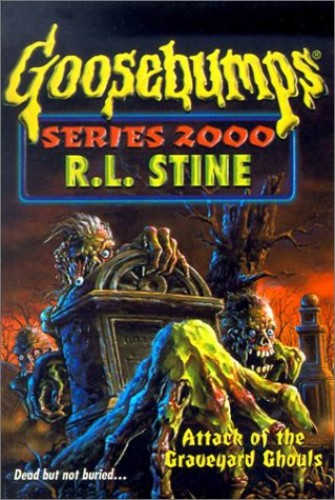 Attack of the Graveyard Ghouls #11 By R. L. Stine