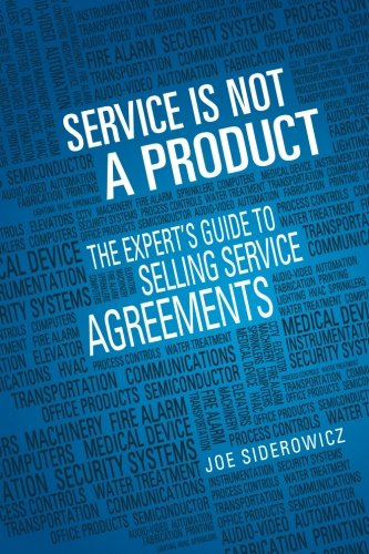 Service is Not a Product By MR Joseph Siderowicz