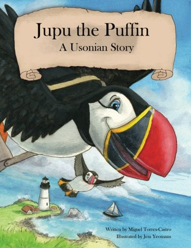 Jupu the Puffin By Jess Yeomans