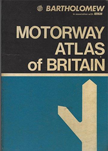 Motorway atlas of Great Britain: Routefinder By Stuart Bladon