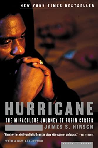 Hurricane: The Miraculous Journey of Rubin Carter By James S Hirsch