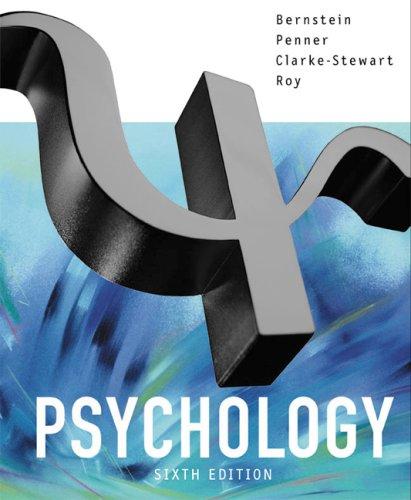 Psychology By Bernstein