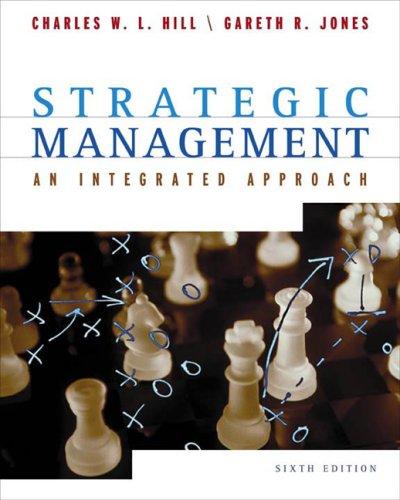 Strategic Management By Jones