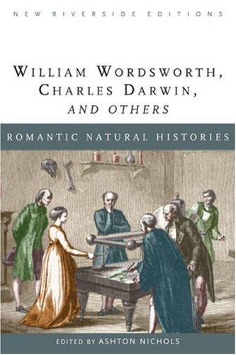 Romantic Natural Histories By Alan Richardson