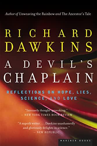 A Devil's Chaplain By Richard Dawkins