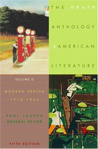 Heath Anthology of American Literature By Paul Lauter