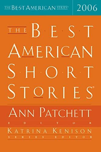 The Best American Short Stories By Ann Patchett