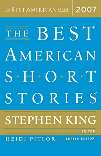 The Best American Short Stories (Best American Series) Edited by Stephen King