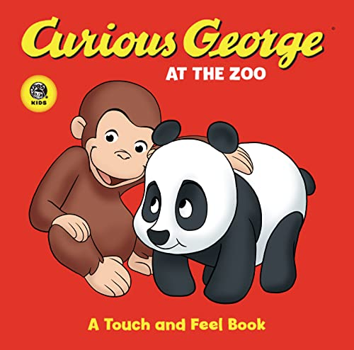 Curious George at the Zoo a Touch and Feel Tv Board Book By H.A. Rey