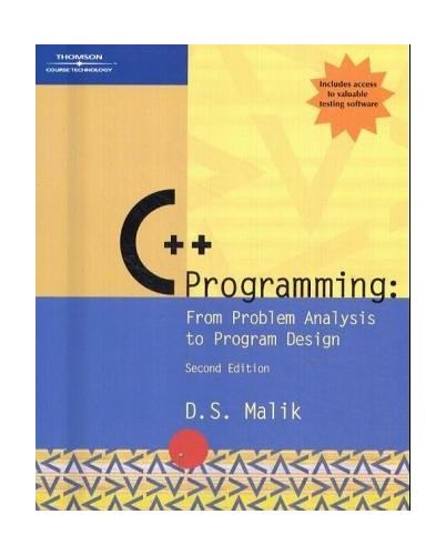 C++ Programming By D. S. Malik