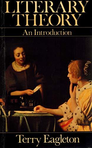 Literary Theory par Terry Eagleton