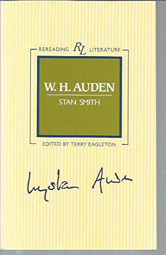 W.H.Auden By Stan Smith