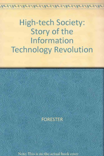 High-tech Society By Tom Forester