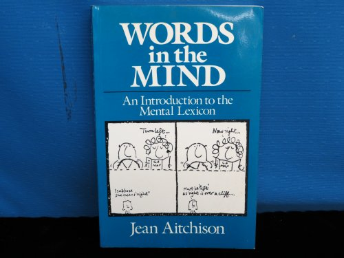 Words in the Mind By Jean Aitchison