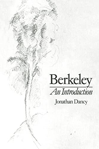 Berkeley By Jonathan Dancy