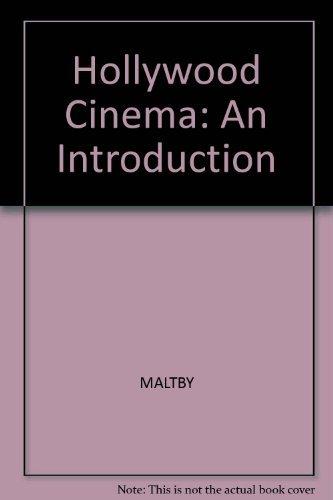 Hollywood Cinema By Richard Maltby