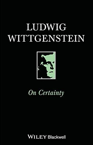 On Certainty by Ludwig Wittgenstein