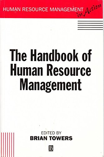 Handbook of Human Resource Management By Brian Towers