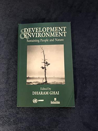 Development and Environment By Dharam Ghai