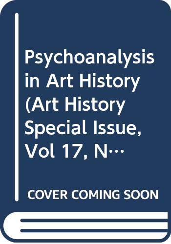 Psychoanalysis in Art History By Margaret Iversen