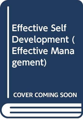 Effective Self Development By Alan Anderson