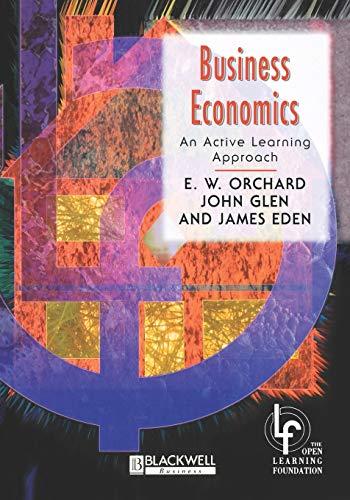 Business Economics By E. W. Orchard