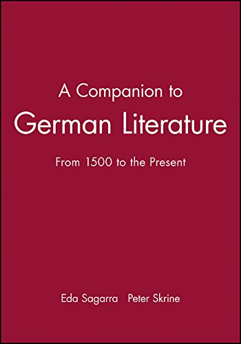 A Companion to German Literature By Eda Sagarra
