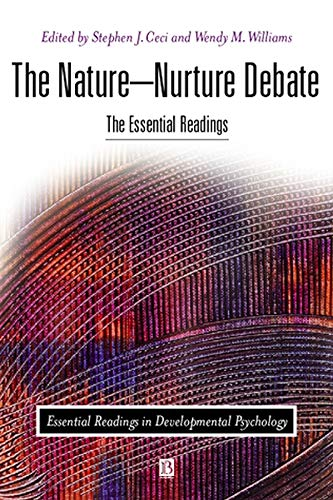 the nature nurture debate Thus nature's partner is nurture, the environmental conditions that influence development children's experiences in the environment affect all aspects of their.