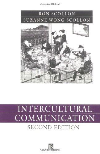 Intercultural Communication By Suzanne Wong Scollon