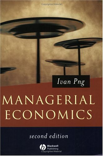 Managerial Economics By Ivan Png