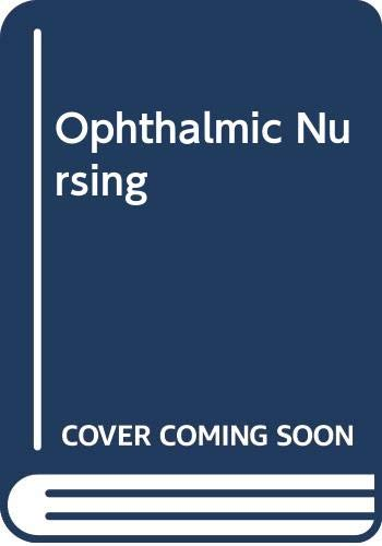 Ophthalmic Nursing By Rosalind Stollery