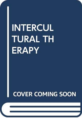 Intercultural Therapy By Edited by Jafar Kareem