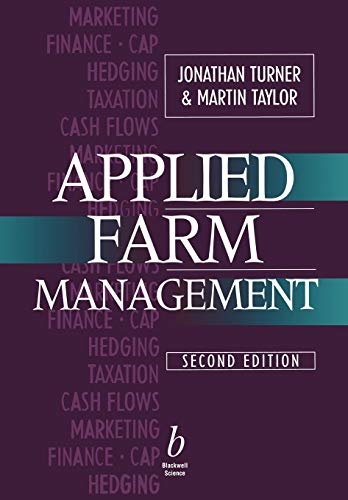 Applied Farm Management 2e By Jonathan Turner