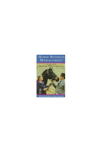 Horse Business Management By Jeremy Houghton Brown