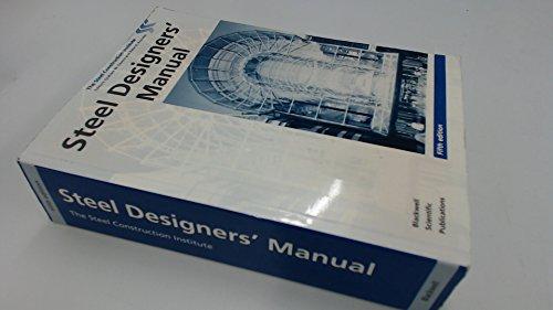 Steel Designer's Manual By SCI
